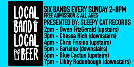 Local Band Local Beer: Presented by Sleepy Cat Records tickets