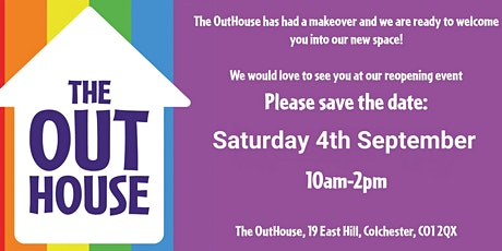 The OutHouse Reopening - Community tickets