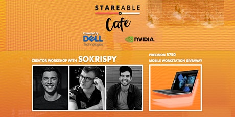 Cafe Stareable: Virtual Production Workshop with SoKrispy tickets