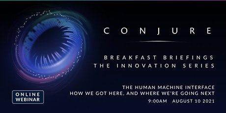 The Human Machine Interface -  How we got here, and where we're going next tickets