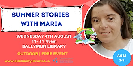 Summer Stories with Maria tickets