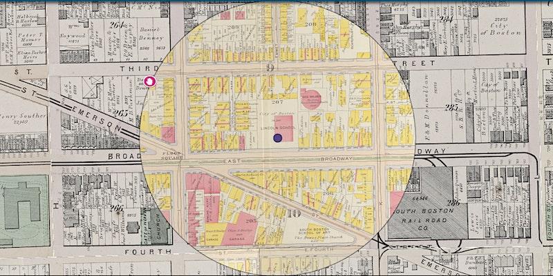 South Boston By Map