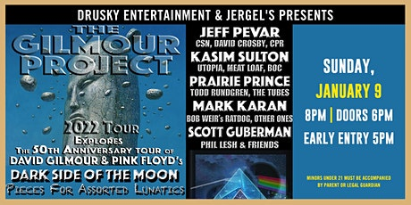 The Gilmour Project - The 50th Anniversary of 'Dark Side of The Moon' tickets