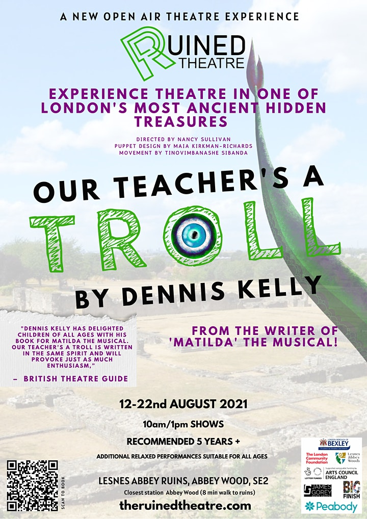 Our Teacher's a Troll by Dennis Kelly at Lesnes Abbey Ruins image