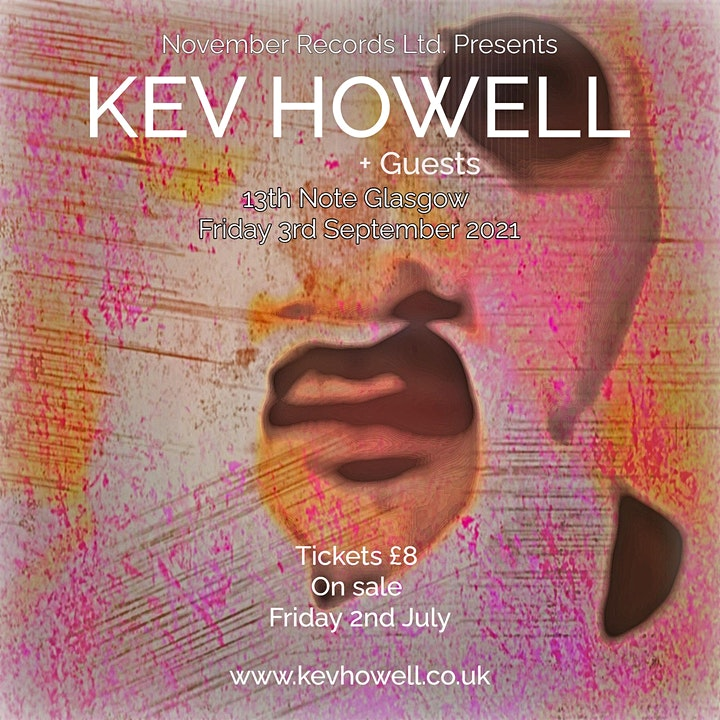 Kev Howell + Guests - live  @13th note image
