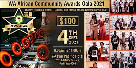 WA African Communities Awards (WAACA) tickets