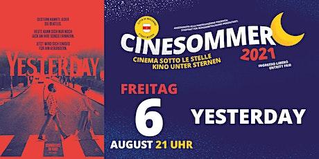 YESTERDAY - Cinesommer 2021 (DE) biglietti