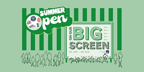 Summer Open: Watch Sports Live on Spitalfields Market's Maxi Screen tickets