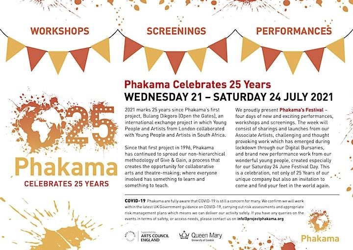 Phakama Celebrates 25 Years image