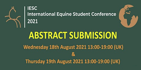International Equine Student Conference 2021 - Abstract Submission tickets