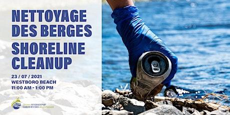 Shoreline Cleanup at Westboro Beach // Nettoyage à la plage Westboro tickets