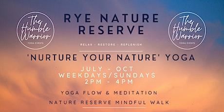 Nurture your Nature, Yoga @ Rye nature reserve tickets
