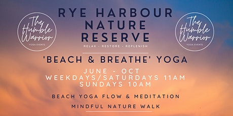 Beach & Breathe, Yoga @ Rye Harbour beach tickets