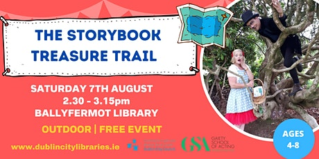 The Storybook Treasure Trail - OUTDOOR tickets