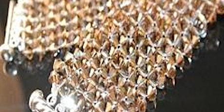 Swarovski Crystal-Cuff  Bracelet- Jewelry Class tickets