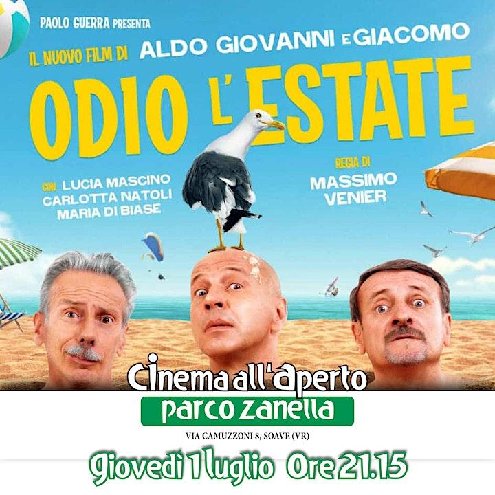 Immagine Odio L'estate - Cinema all'Aperto 2021 PARCO ZANELLA