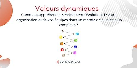 Comprendre l'évolution des organisations avec le modèle Valeurs Dynamiques billets