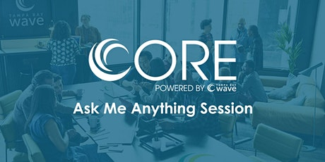 """Tampa Bay Wave CORE Program """"Ask Me Anything"""" Session tickets"""