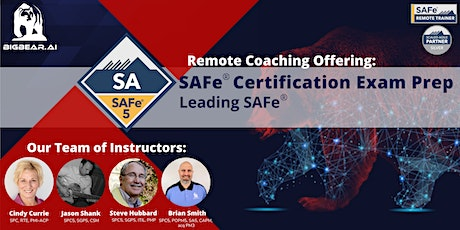 Leading SAFe® - Certified SAFe® Agilist (SA) Certification Exam Prep Course tickets