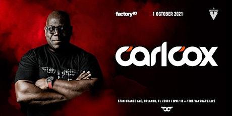 Carl Cox tickets