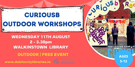 CuriousB  - OUTDOOR WORKSHOPS tickets