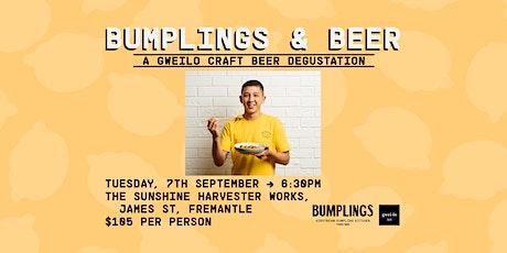 Bumplings & Beers: A Gweilo Craft Beer Degustation tickets