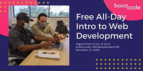 All Day Intro to Web Development Workshop hosted by Boca Code tickets