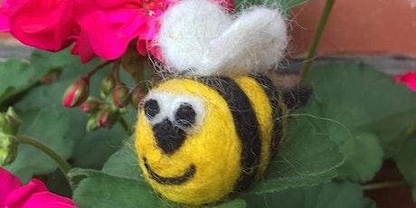 Needle Felt A Bee tickets