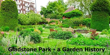 Gladstone Park - a Garden History tickets
