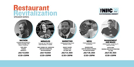 Restaurant Revitalization Speaker Series | MANAGEMENT  with Justin Lance tickets