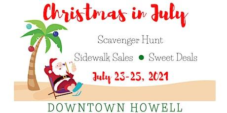 Downtown Howell Christmas in July - Scavenger Hunt biglietti