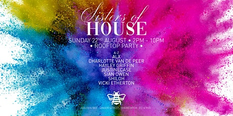 Sisters Of House Rooftop Party tickets