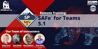 SAFe® for Teams 5.1  – Remote