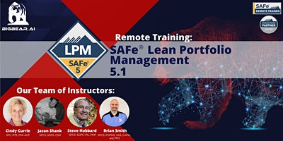 SAFe® Lean Portfolio Management 5.1 – Remote