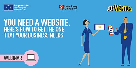 You need a website.  Here's how to get the one that YOUR business needs. tickets