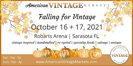 Sarasota | Falling for Vintage tickets