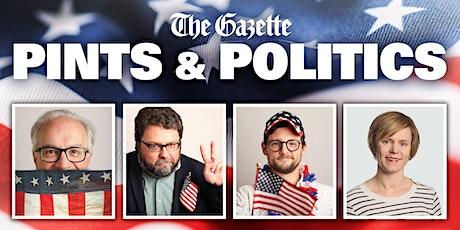 Pints & Politics - August 2021 LIVE tickets
