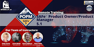 SAFe® Product Owner/Product Manager 5.1 – Remote