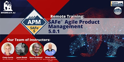 SAFe® Agile Product Management 5.0.1 – Remote