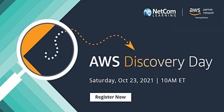 Webinar - AWS Discovery Day an introduction to   cloud and AWS tickets