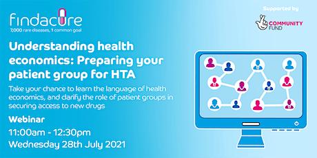 Webinar   Understanding Health Economics: Preparing for HTA tickets