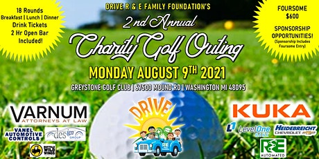 DRIVE - 2nd Annual Charity Golf Outing tickets