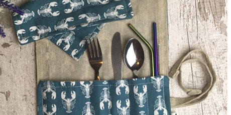 Workshop -  Upcycle waste fabric into a handy cutlery pouch tickets