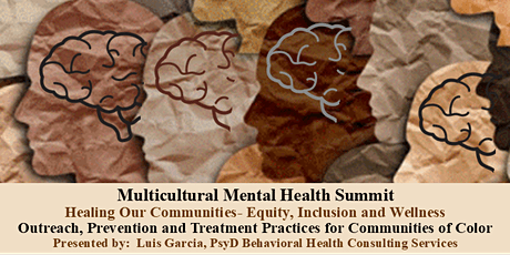 Multicultural Mental Health Summit tickets