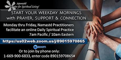 Namasté Weekday Morning Meditation tickets