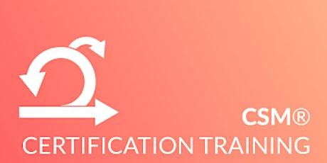Online 2 Days Certified Scrum Master® (CSM®) | CSM Certification tickets