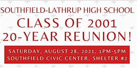 SL Class of 2001 Reunion tickets