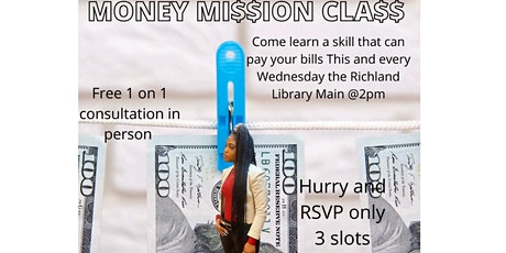 Money Mission Class tickets