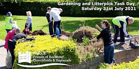 Gardening and Litterpick Task Day in Rochester Esplanade Park tickets