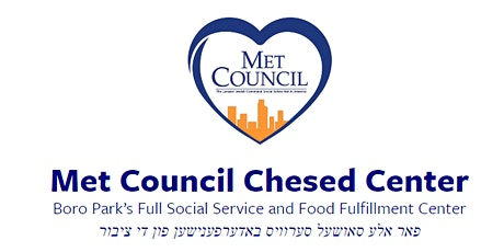Met Council Boro Park Rosh HaShannah Food Distribution - August 31st 2021 tickets